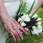 Como fazer tinta de henna caseira