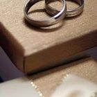 Información sobre anillos de titanio para boda