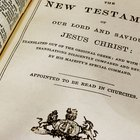 Quais são as divisões do Novo Testamento?