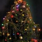 Ideias de decoração para ávore de natal de mesa