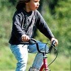 ¿Qué tamaño de bicicleta necesita un niño?