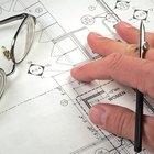 Cómo calcular el área y la escala para planos de construcción