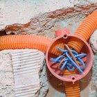 Cómo empalmar un cable eléctrico subterráneo