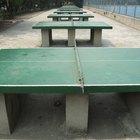 Diferenças entre tênis de mesa e ping pong