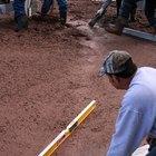 How to pour concrete on a grade