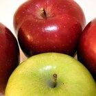 Rociadores orgánicos para evitar los gusanos en los árboles de manzana