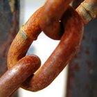 Cómo quitar el óxido de una cadena pesada