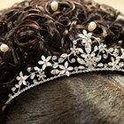 Cómo hacer una tiara para novia con alambre y mostacillas
