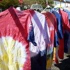 Como lavar camisetas tingidas com a técnica tie dye