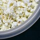 ¿Cuántas calorías hay en las palomitas de maíz?