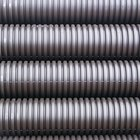How to join together two pieces of corrugated flexible PVC hose
