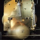 How to adjust a pendulum clock escapement