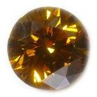 Sobre diamantes amarillo canario