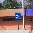 Reglas de las señales para discapacitados