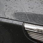 Como remover manchas de água em um carro