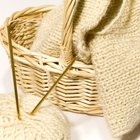 How to attach satin binding to a hand knit blanket