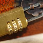 How to Reset a Combination Padlock