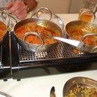 Herramientas en la cocina india