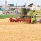 ¿Cómo funciona una cosechadora combinada?