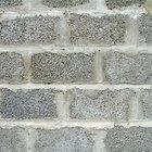 Cinder block wall problems