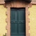 Consejos de Feng Shui para pintar una puerta que mira al Este