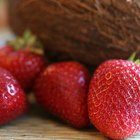 Nutrient-dense strawberries are rich in fiber.