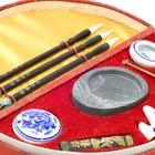 Antiguas herramientas de escritura china