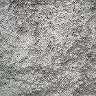 How to repair efflorescing plaster