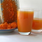 Como usar as sobras da polpa da cenoura