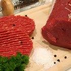 Lista de las carnes rojas magras