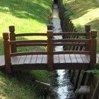 Como construir uma ponte de jardim japonês