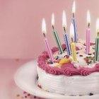 ¿Porqué ponemos velas en un pastel de cumpleaños?