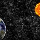 Qual é a posição da Terra no sistema solar?