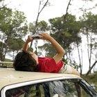 Como esconder uma câmera espiã em um carro