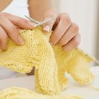 How to sew knitted pieces of blanket together