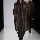 A comparison of a muskrat fur coat to a mink
