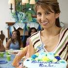 Indicaciones para usar obleas en la decoración de pasteles