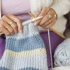 Como tricotar o ponto pérola