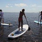 Paddleboard Exercises