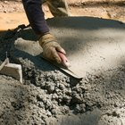 How to pour a round concrete slab