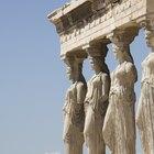 Materiais usados na antiga arquitetura grega
