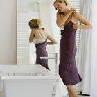 Cómo ocultar el sostén en la parte de atrás de un vestido