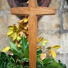 Cómo decorar una cruz de madera