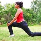 Forward Bending Hip Flexor Stretches