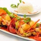Fish Curry and Basmati Rice