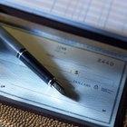 Como eliminar talões de cheques