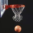 Tabela de basquete feita em casa