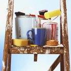 Cómo mezclar pintura y reductor