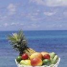 Tipos de frutas tropicales