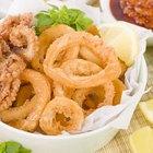 tasty fried calamari